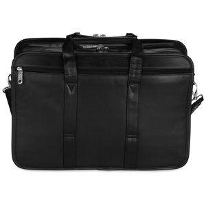 Wenger Leather Double Compartment Attache Image 1 of 1