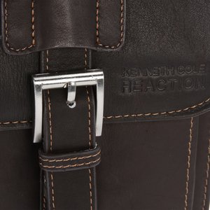Kenneth Cole Colombian Leather Dowel Laptop Bag Image 1 of 3