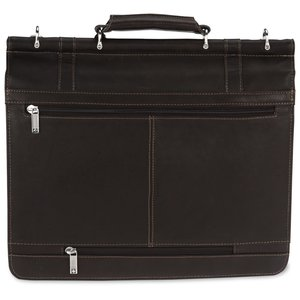 Kenneth Cole Colombian Leather Dowel Laptop Bag