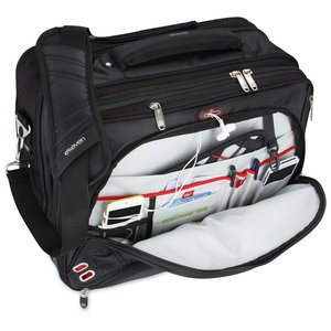 elleven Checkpoint-Friendly Wheeled Laptop Case - Embroidered Image 1 of 3