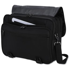Kenneth Cole Tech Laptop Messenger - Embroidered