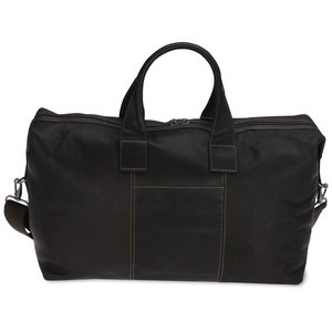 Kenneth Cole Colombian Leather Weekender Duffel - 24 hr Image 2 of 2