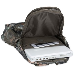 Hunt Valley Camo Laptop Backpack Image 4 of 5