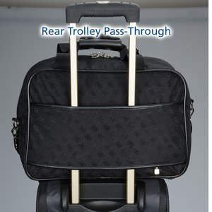 Guess Signature Travel Laptop Tote Image 5 of 5