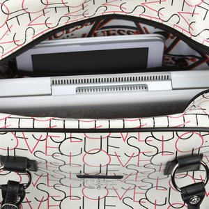 Guess Love U Travel Laptop Tote Image 3 of 5