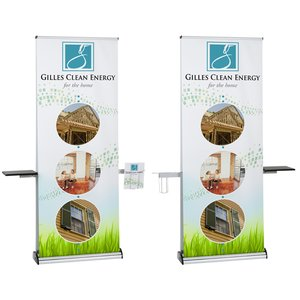 Excalibur Double Sided Ret Banner with Table & Lit Pocket Image 4 of 4