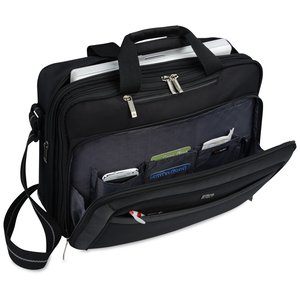 Solo Checkfast Laptop Brief Bag Image 3 of 3