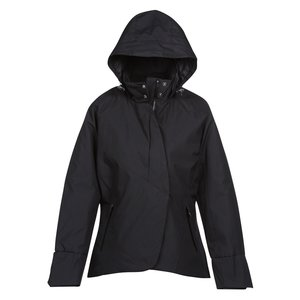 Skyline City Twill Insulated Jacket - Ladies' Image 2 of 2