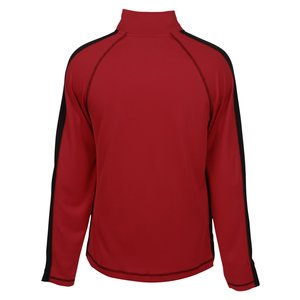 Cool & Dry Sport 1/4-Zip Colorblock Pullover - Screen Image 1 of 1