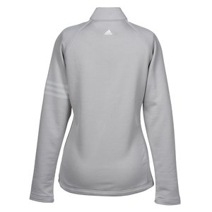 adidas Performance 1/2 Zip Training Pullover - Ladies' - Emb Image 1 of 1