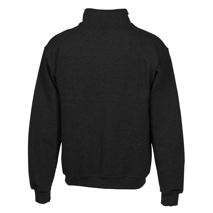 ae9b84058912 4imprint.com  Gildan Heavy Blend Vintage 1 4-Zip Sweatshirt - Embroidered  120916-E