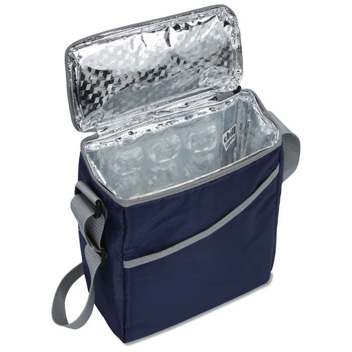 Coolers That You Can Freeze ~ Imprint chill by flexi freeze vertical can cooler