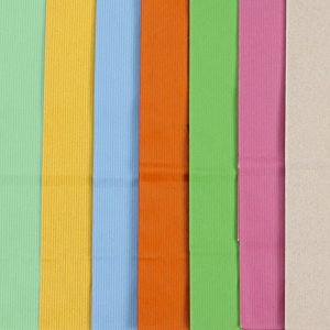 Tonal Striped Matte Paper Bag - 10-1/2