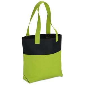 Neon Two-Tone Accent Tote Image 1 of 2