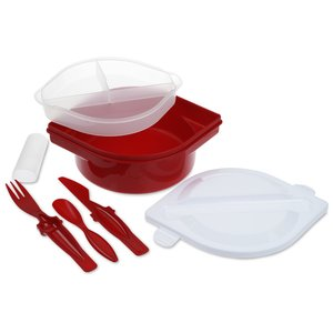 Food Container with Utensil Set Image 2 of 2