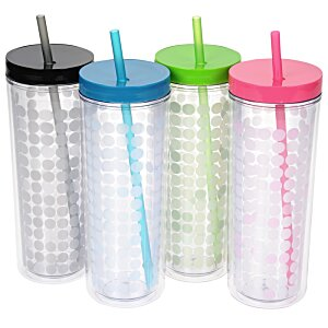 Ice Chameleon Tumbler with Straw - 16 oz. Image 1 of 2