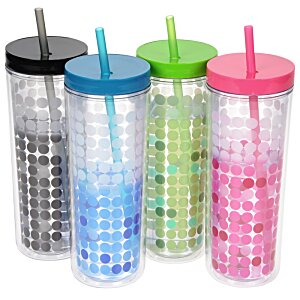 Ice Chameleon Tumbler with Straw - 16 oz. Image 2 of 2