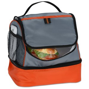 Two Compartment Lunch Cooler Image 1 of 2