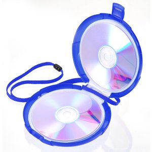 12-CD Case with Strap - Closeout Image 1 of 2