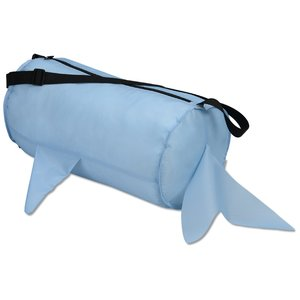 Paws and Claws Barrel Duffel Bag - Shark Image 1 of 1