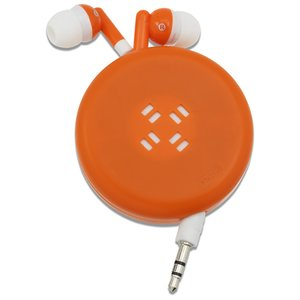 Push Button Retractable Ear Buds Image 2 of 3