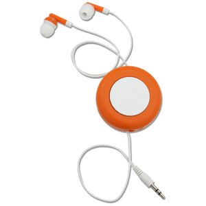 Push Button Retractable Ear Buds Image 3 of 3