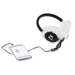 Ear Muff Headphones with Mic Image 1 of 1