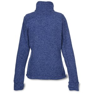Heathered Fleece Jacket - Ladies' Image 1 of 2