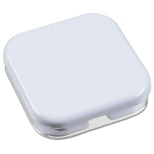 Ear Buds with Square Case - White Image 1 of 3