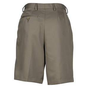 Microfiber Pleated Transit Shorts - Ladies'