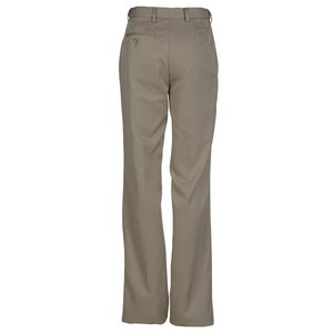 Microfiber Flat Front Transit Pants - Ladies' Image 1 of 1
