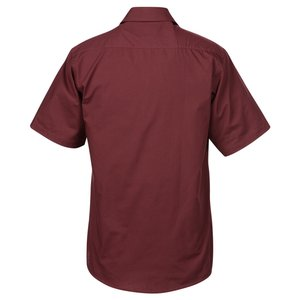 Broadcloth Short Sleeve Café Shirt - Men's Image 1 of 2