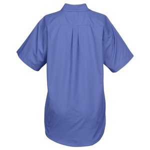 Broadcloth Short Sleeve Café Shirt - Ladies' Image 1 of 2