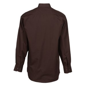 Broadcloth Banded Collar Shirt - Men's Image 1 of 2