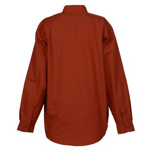 Broadcloth Banded Collar Shirt - Ladies' Image 1 of 2
