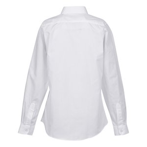 Pleated Bib Tuxedo Shirt - Ladies' Image 1 of 1