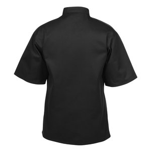Ten Button Short Sleeve Chef Coat Image 2 of 3