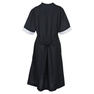 Black Spun Polyester Housekeeping Dress Image 2 of 2