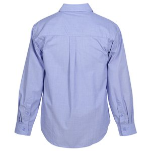 Stain Release Cross Weave Shirt - Men's Image 2 of 2