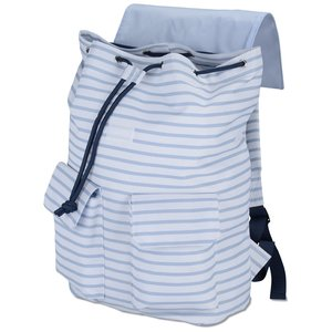 In Print Rucksack Backpack - Stripes Image 1 of 2