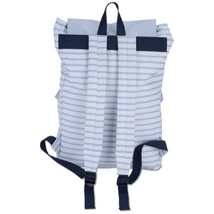 In Print Rucksack Backpack - Stripes Image 2 of 2