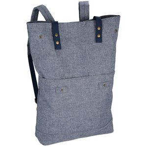 Chambray Rucksack Backpack Image 1 of 3