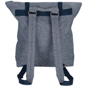Chambray Rucksack Backpack Image 2 of 3