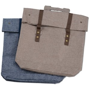 Chambray Rucksack Backpack Image 3 of 3