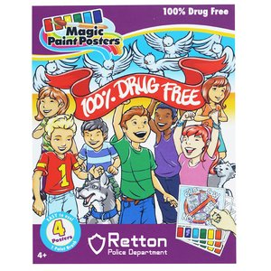 Paint Poster Pack - 100% Drug Free Image 1 of 3