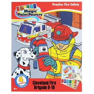 Paint Poster Pack - Practice Fire Safety Image 1 of 3