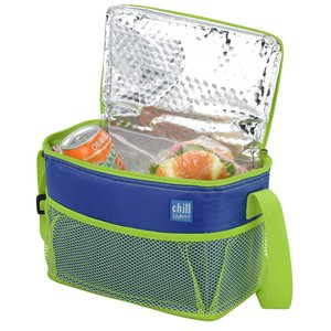 Chill by Flexi-Freeze 6-Can Cooler with Mesh Pockets Image 1 of 2