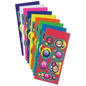 Super Kid Sticker Sheet - Smiley Faces Image 1 of 1