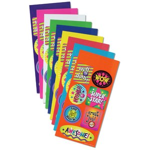 Super Kid Sticker Sheet - Wow Words