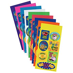 Super Kid Sticker Sheet - Dollars and Cents Image 1 of 1
